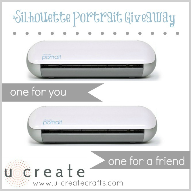 Silhouette Portrait Giveaway TWO