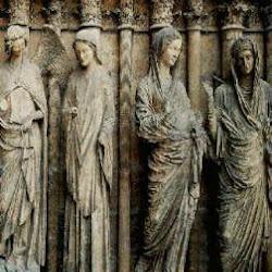 75 - Anunciacion y Visitacion de la Catedral de Reims