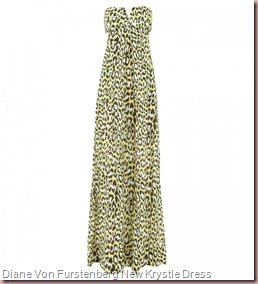 Diane Von Furstenberg New Krystle Leopard Dress