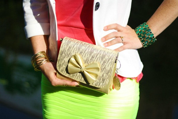 OOTD Neon Yellow & Coral - Elegant Colour Blocking (5)