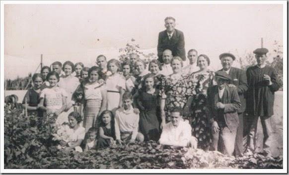 Grupo de la huerta de Valencia. Ca. 1936