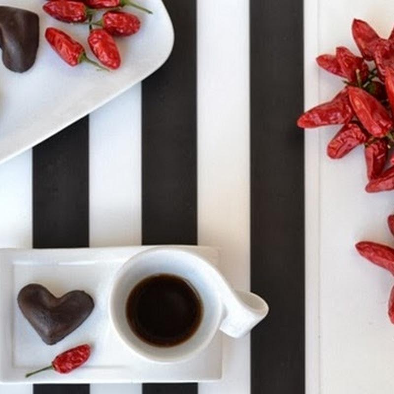 Σοκολατακια με τσιλι