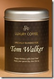 Personalised Tin of Coffee