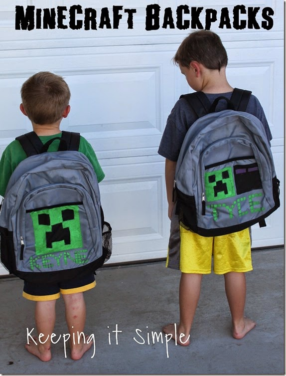 DIY Minecraft BackPack