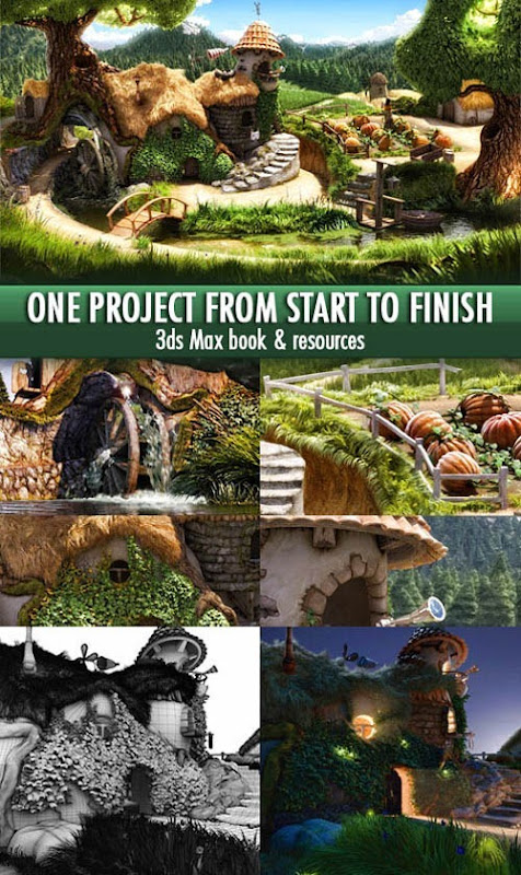 3dmaxstuff.com_One Project from Start to Finish 3ds Max & VRay