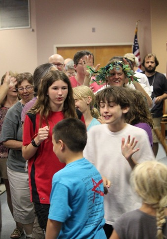 Children at North Carolina Yearly Meeting (Conservative)