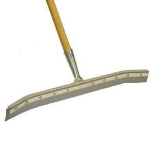 This curved squeegee makes sure liquid messes will be well contained.