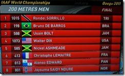 Christophe Lemaitre finale 200m, 3sept2011