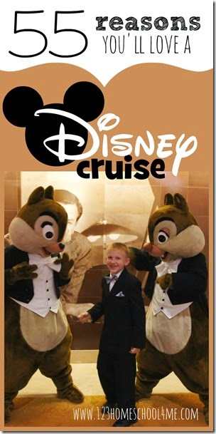 WOW! 55 Reasons you'll love Disney Cruises - So many things I didn't even think of..... might have to try a Disney cruise next vacation