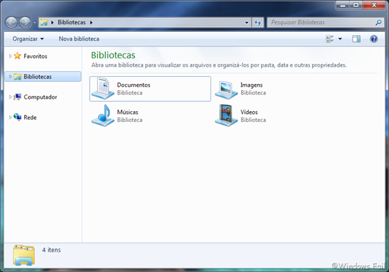 Windows Explorer - Windows 7