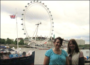 Friday in London with Juli at the eye
