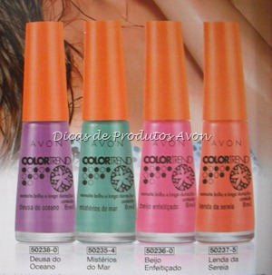Esmaltes Color trend Summer Colletion
