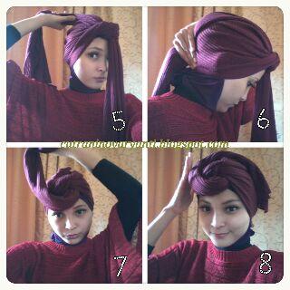 tutorial : Hijab Turban | hijab tutorial new