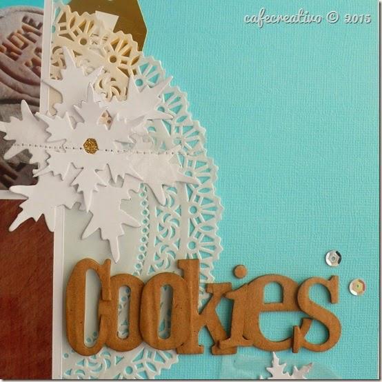 Anna Drai - big shot sizzix - scrapbooking - cookies