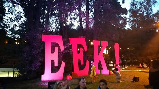 EEK! At The Greek