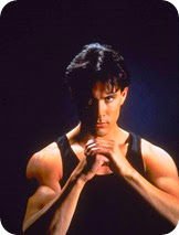 Brandon Lee son of Bruce Lee