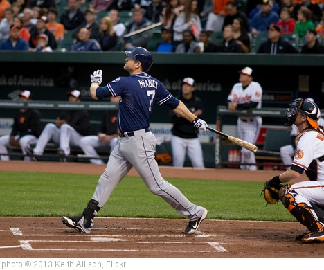 'Chase Headley' photo (c) 2013, Keith Allison - license: http://creativecommons.org/licenses/by-sa/2.0/