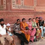 Avec une famille sikh