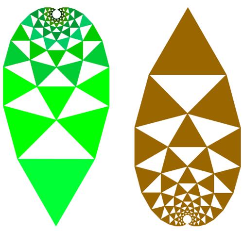 variazioni sull'Albero di Pitagora