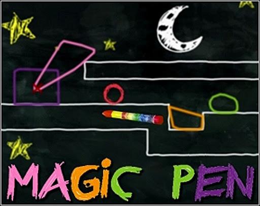 С помощью волшебного карандаша