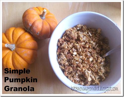 Simple Pumpkin Granola