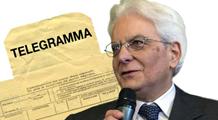 telegramma a Mattarella