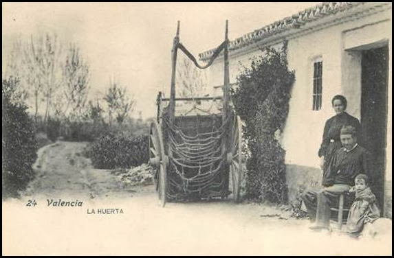 la huerta ca 1910