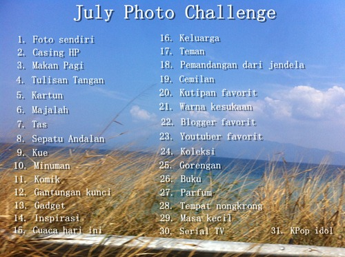 July Photo Challenge Priscilla