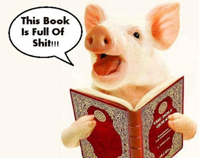 pig with koran.jpeg