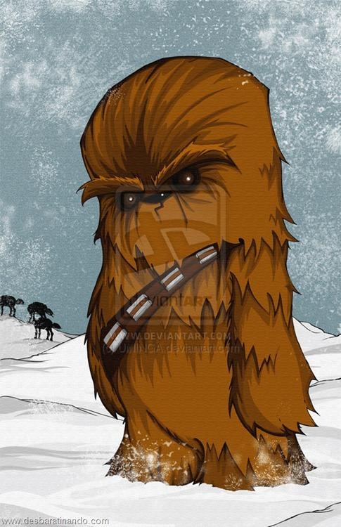 chewbacca desenhos arte uminga herois desbaratinando.jpg