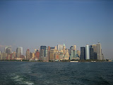 View of Manhattan from the ferry