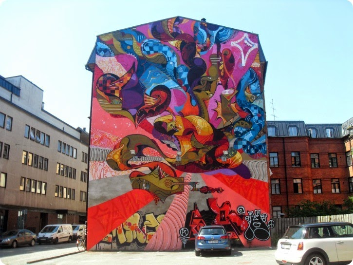 Malmø - juli 2014