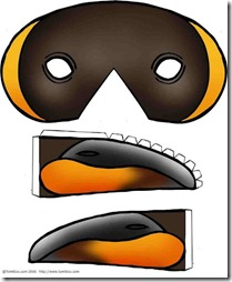 mascara-de-pingüino blogcolorear
