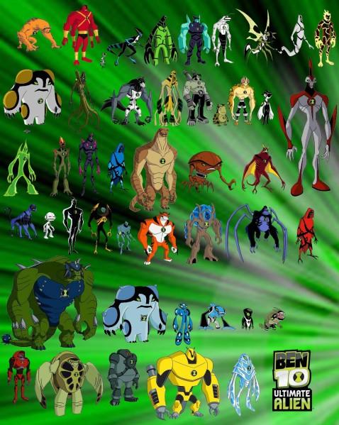 Les personnages de ben 10 ultimate alien - Ben 10 tous les aliens ...