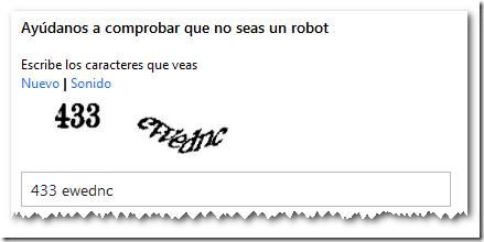 No eres un robot, Creando una Cuenta Live | Microsoft SQL 2012 Free