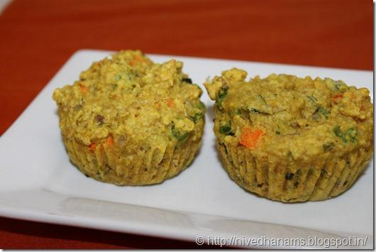 Savory Oat Muffins - IMG_1347