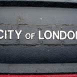 city of london in London, London City of, United Kingdom