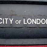 city of london in London, London City of, United Kingdom