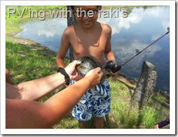 How to fish, written by a child who lives in an RV full time.  RVing with the Raki's