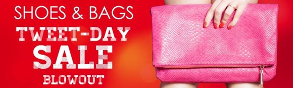 EDnything_Shoes & Bags Tweet Day Sale