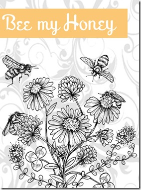 Bee My Honey Graphic