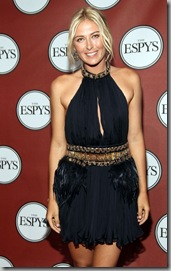 Maria Sharapova 2011 ESPY Awards 1