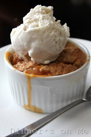 oatmeal peach cobbler