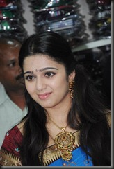Charmi launches SVR Brothers Saree Showroom Vijayawada Photos