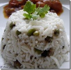 arroz con guandu