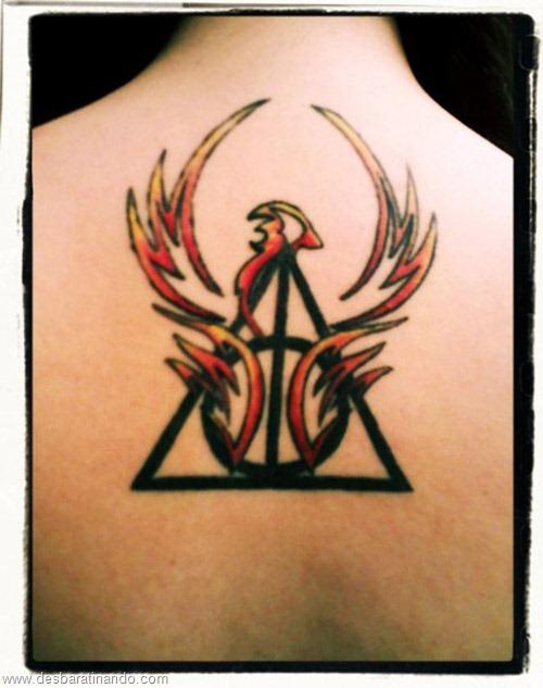 tatuagens harry potter tattoo reliqueas da morte bruxos fan desbaratinando (18)