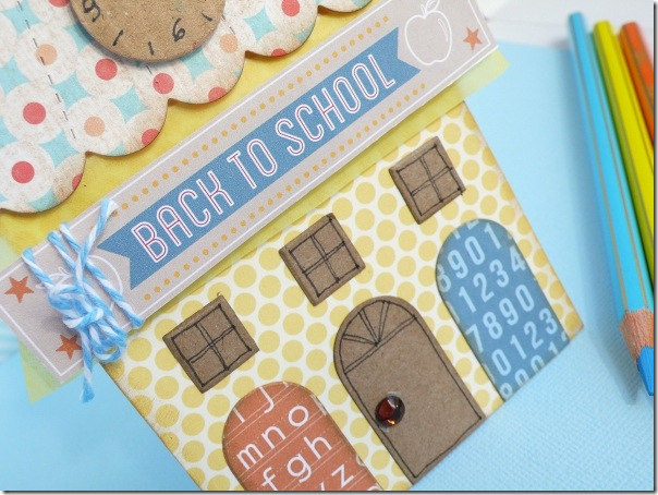 cafe creativo - sizzix big shot - card back to school - house (2)