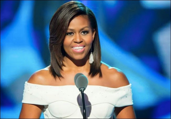 Michelle Obama declares 'Black Girls Rock