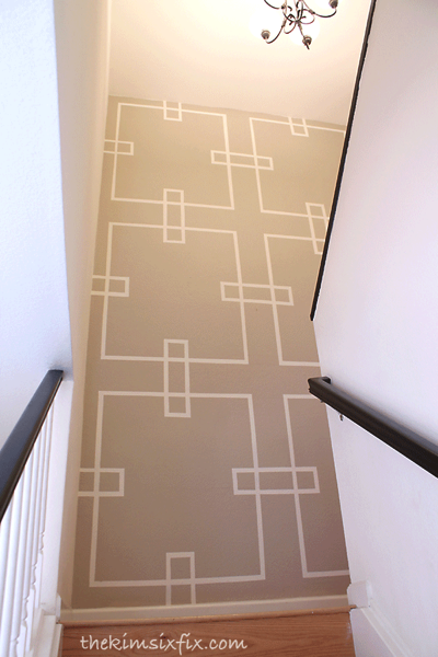 Feature wall stairwell