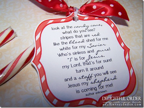picture regarding Candy Cane Poem Printable referred to as Delectable Obtain: Cost-free Printable Sweet Cane Poem